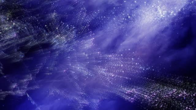 flying through star fields in space - weltraum und astronomie stock-videos und b-roll-filmmaterial
