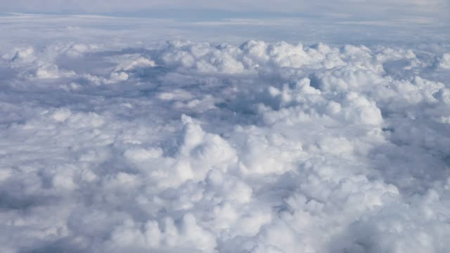 Flying through the clouds