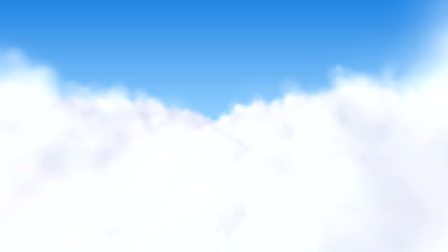 flying through the clouds - cloudscape stock videos & royalty-free footage
