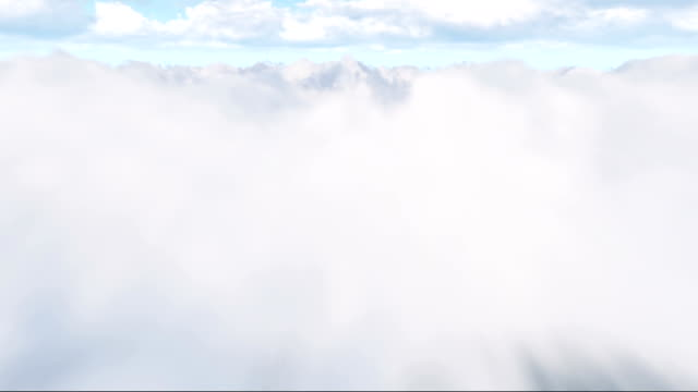 Flying through the clouds (Loopable)