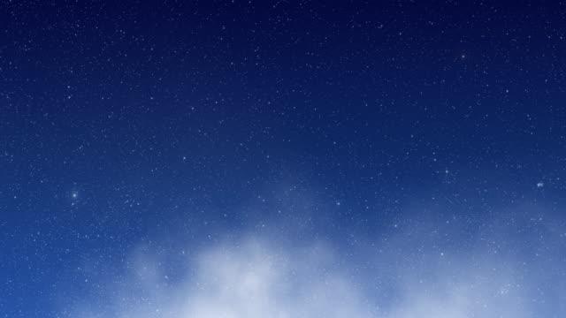 vídeos y material grabado en eventos de stock de volando a través del espacio estelar - onírico
