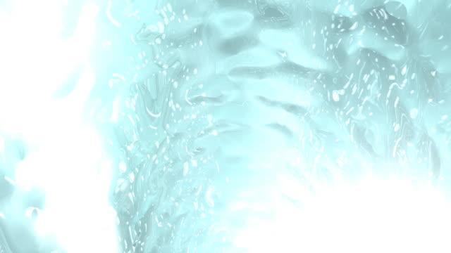 vidéos et rushes de voler à travers le tunnel sous-marine - verre translucide