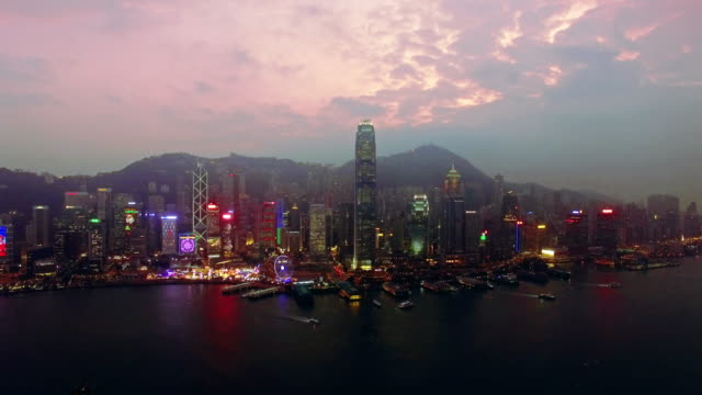 Flying to Hong Kong by Drone