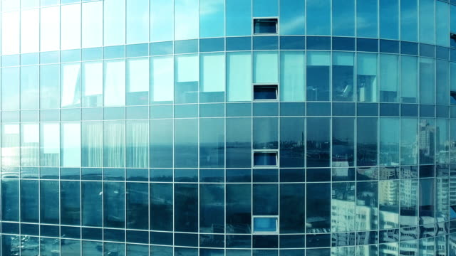 flying - office block exterior stock videos & royalty-free footage