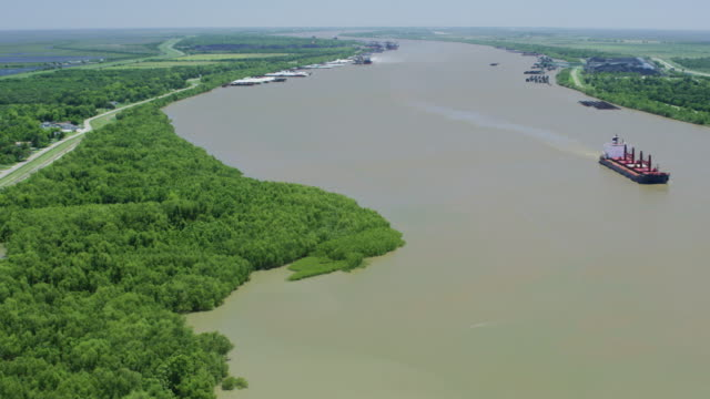flyover shot of phoenix - river mississippi stock videos & royalty-free footage