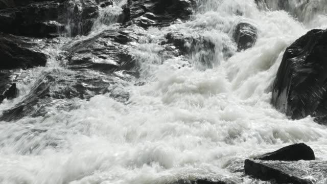 Foaming White Water Nahaufnahme