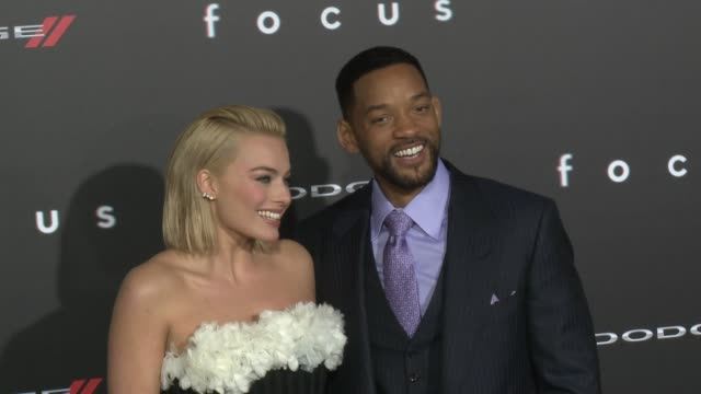 CLEAN 'Focus' Los Angeles Premiere at TCL Chinese Theatre on February 24 2015 in Hollywood California