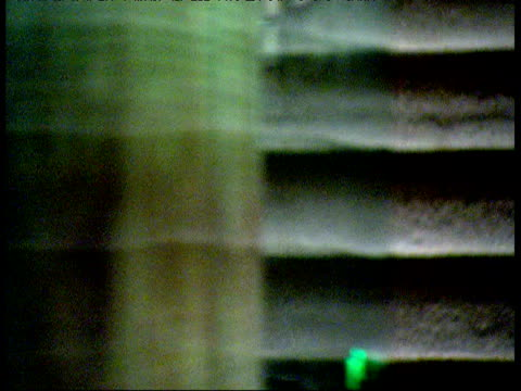 focus pull across dead sea scrolls on display inside shrine of book museum jerusalem - 陳列ケース点の映像素材/bロール