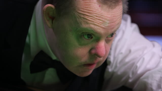 focussed snooker player - see other clips from this shoot 56 stock videos & royalty-free footage