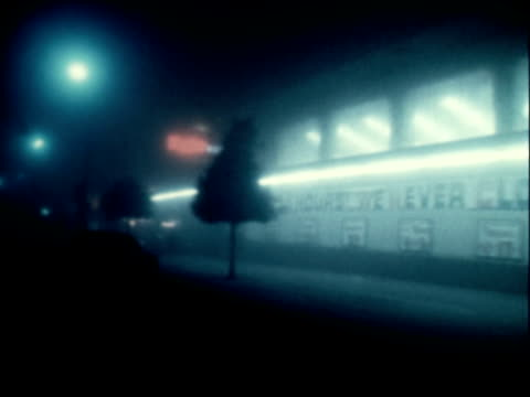 fog and its effects in a city - 1966 stock videos & royalty-free footage