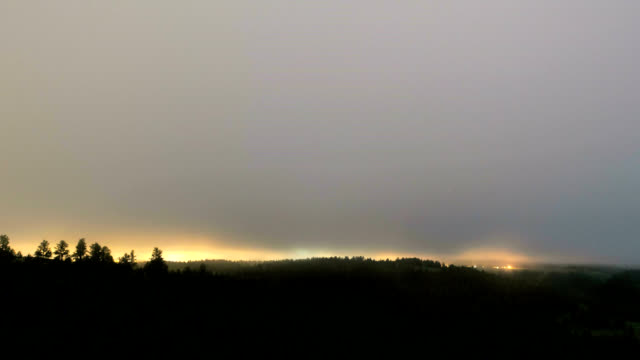 Fog and low cloud, timelapse