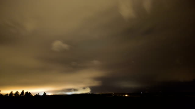 fog at night, timelapse - stratus stock videos & royalty-free footage