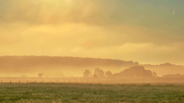 vidéos et rushes de brume effet time-lapse - tempête de poussière