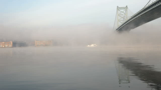 Foggy Morning in Philly