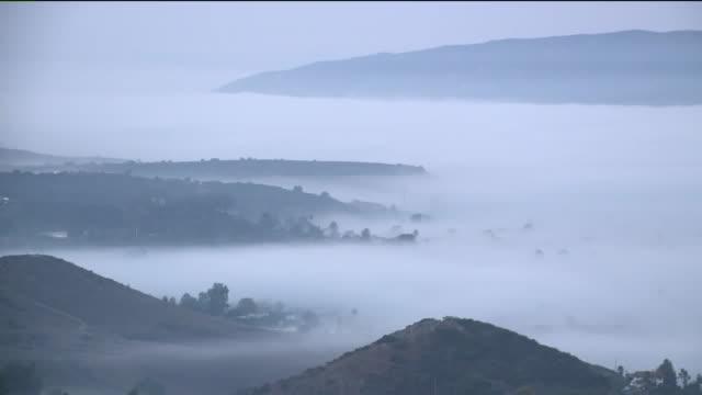 Foggy Morning in San Diego