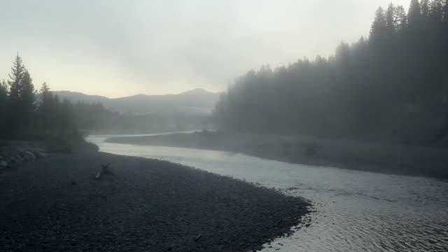 Foggy Mountain Creek Morning
