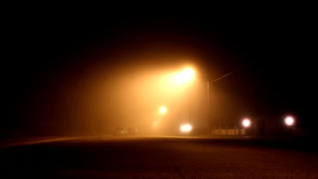 霧の street - かすみ点の映像素材/bロール