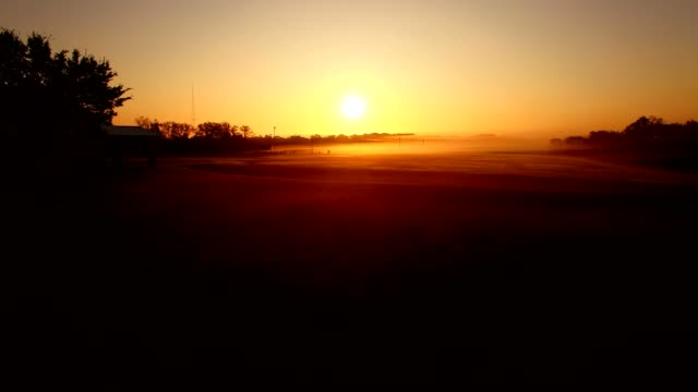 foggy sunrise - nashville stock videos & royalty-free footage