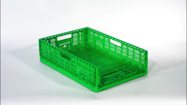 Foldable green box