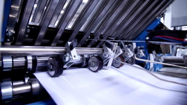 vídeos y material grabado en eventos de stock de carpeta de cerca. - máquina impresora