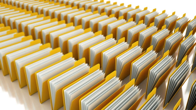 folders and paperwork - filing documents stock videos & royalty-free footage