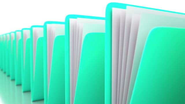 4k folders - filing documents stock videos & royalty-free footage