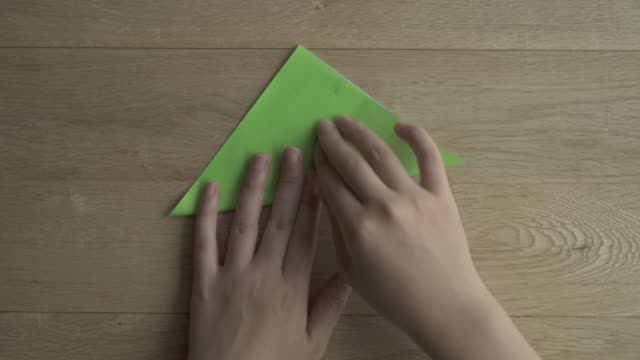 folding origami paper,japan,kyoto - folding paper stock videos and b-roll footage