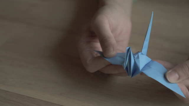 folding origami paper,Japan,Kyoto