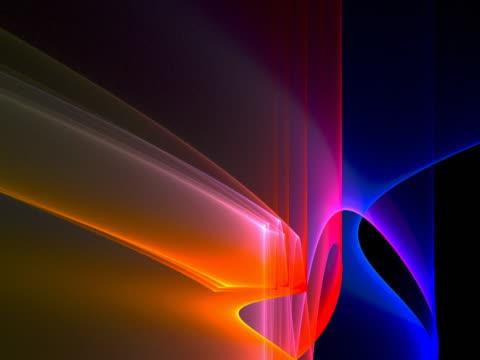 Folds of bright light