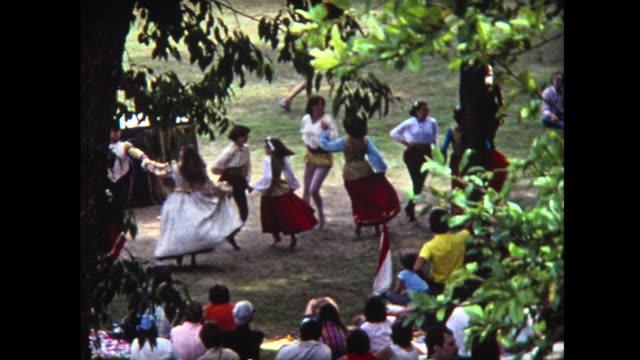 1975 folk dancers in costume