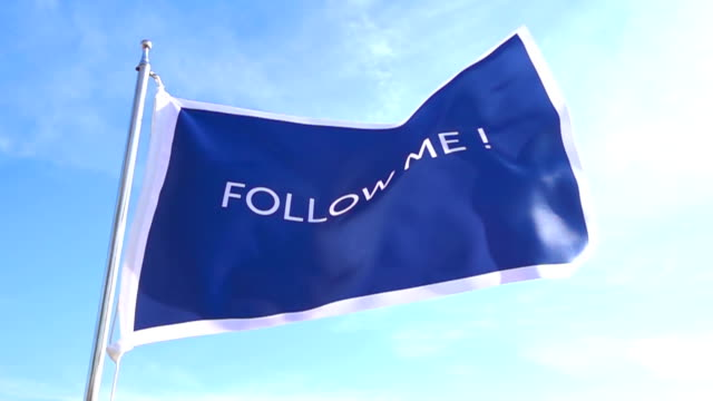 Follow Me Flag
