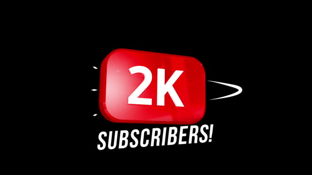 2000 followers thank you video post. special 2kk user goal celebration for two thousand social media friends, fans or subscribers - following stock videos & royalty-free footage