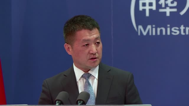 vídeos de stock, filmes e b-roll de following accusations the former chinese head of interpol accepted bribes china says its investigation into meng hongwei's actions shows the... - ex