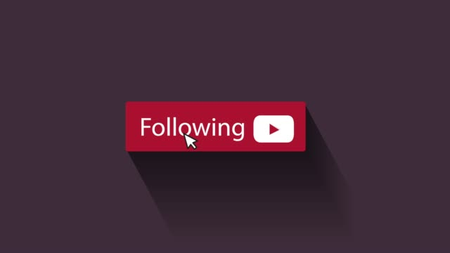 following button animation - social media followers stock videos & royalty-free footage