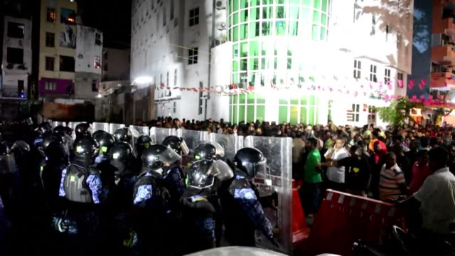 following maldives top court suspension of the presidential election runoff scheduled for sunday blocking a vote for the third time in two months... - runoff election stock videos & royalty-free footage