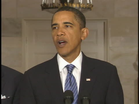 following the 2010 earthquake, u.s. president barak obama promises that america stands with the people of haiti. - earthquake stock videos & royalty-free footage