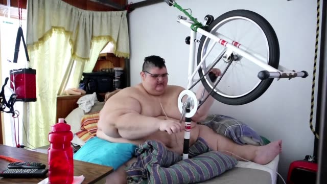 following two surgeries a strict diet and exercise juan pedro franco once certified as the world's heaviest man has managed to lose about 250... - authority stock videos & royalty-free footage