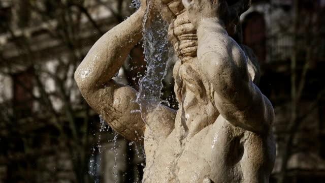 Fontana del Tritone in piazza Barberini of Rome