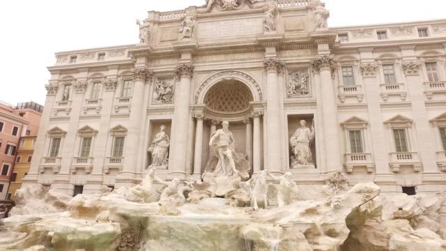 Fontana di trevi landmark of Rome