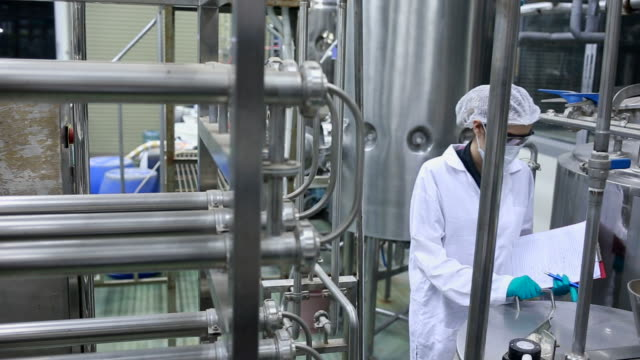 food and pharmaceutical technology - food processing plant stock videos and b-roll footage