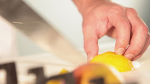 ms food chef chopping mango / sao paulo, brazil - mango fruit stock videos & royalty-free footage