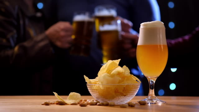 food cinemagraphs: beer party cinemagraphs - beer stein stock videos and b-roll footage