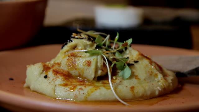 vídeos y material grabado en eventos de stock de plato de comida - pescado y mariscos
