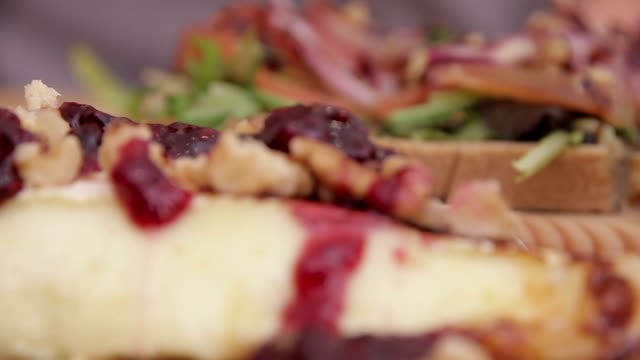 food dish - cranberry stock videos & royalty-free footage
