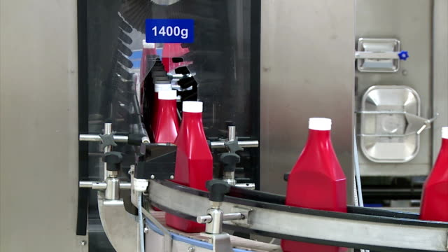 food factory - ketchup stock videos and b-roll footage