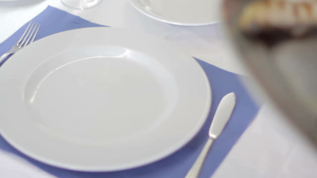 food fish restaurant - kitchenware shop stock videos & royalty-free footage