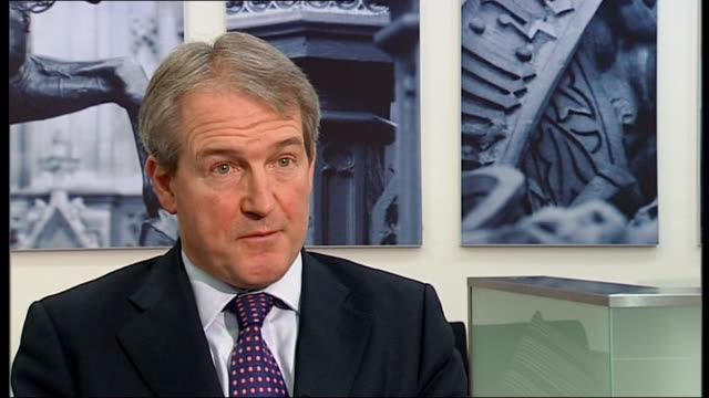 horse meat contamination investigations continue england owen paterson mp interview sot well we're simply not allowed to you know this is a european... - owen paterson stock videos and b-roll footage
