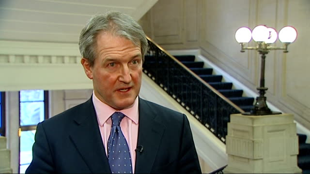 horse meat crisis intv with owen paterson environment minister owen paterson mp interview sot re reaction to fsa findings it is wholly unacceptable... - owen paterson stock videos and b-roll footage