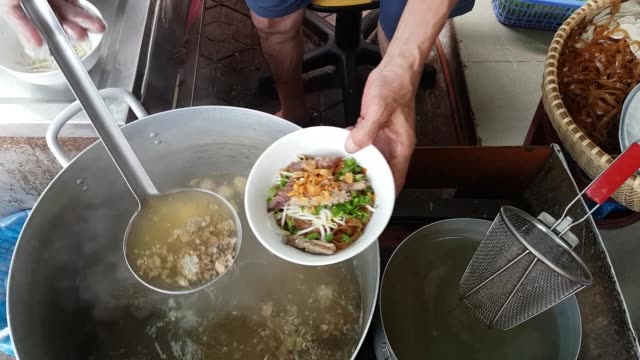 food in hai phong - vietnam stock videos & royalty-free footage