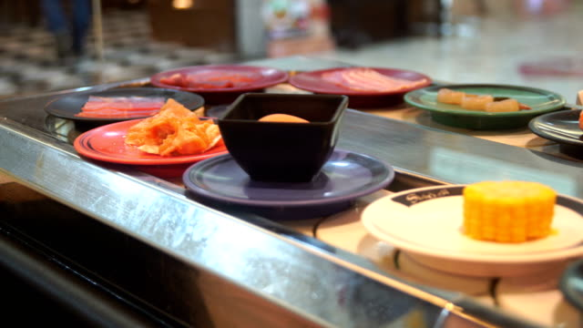 ws:food on conveyor belt - belt stock videos and b-roll footage